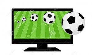 http://www.dreamstime.com/royalty-free-stock-images-football-tv-balls-coming-out-image38985319