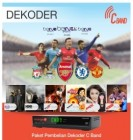 Receiver Orange TV – hak milik (CBand)