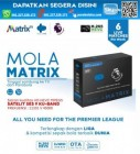 Receiver Mola Matrix Hitam
