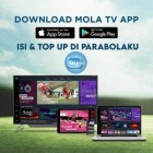 Isi dan Top Up Mola TV Applikasi